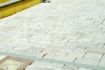 Marmette anticate in Marmo di Trani - Pezzatura Mista sp. cm. 2,2