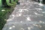 Pavimento anticato in Pietra di Trani sp. cm. 1,5