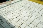 Marmette anticate in Marmo di Trani - Pezzatura Mista  sp. cm. 2