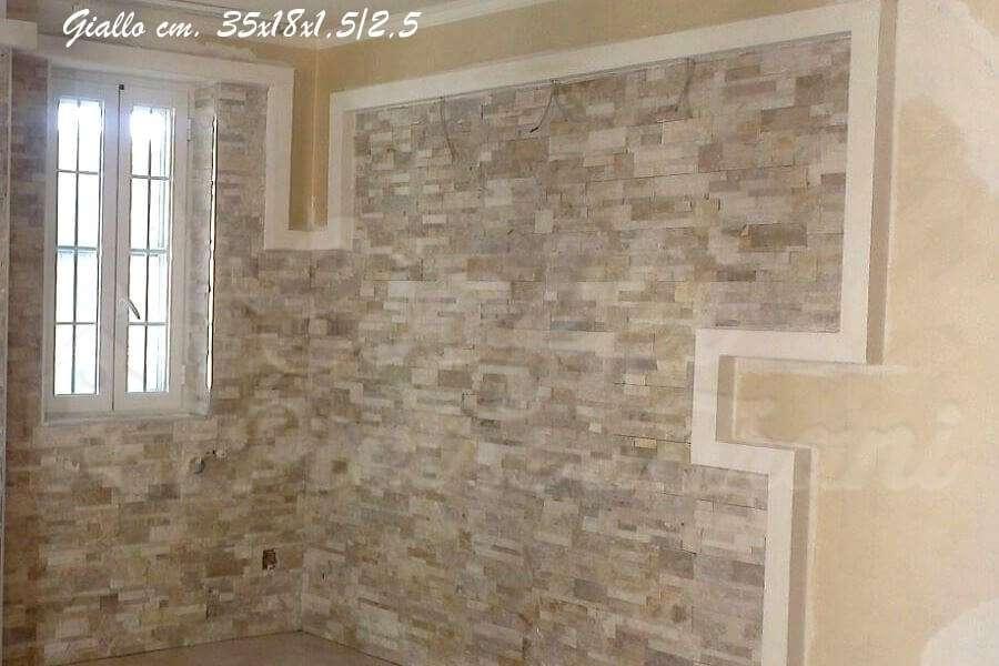 Rivestimento Esterno Pietra Naturale : Listelli per rivestimenti in pietra naturale