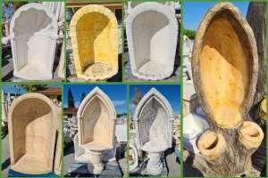 Nicchie da Giardino - Cupole per Madonne