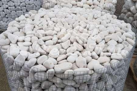 Ciottoli da Giardino Bianco Trani