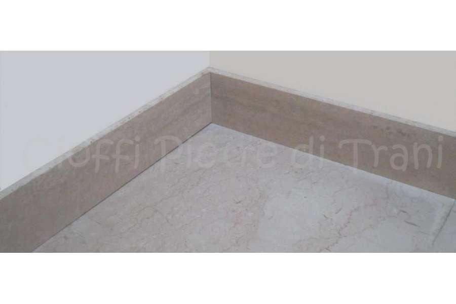 Top cucina ceramica zoccolino marmo for Zoccolini in pietra