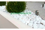 Ciottoli da giardino Bianco Assoluto in BUSTE