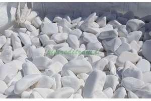 Ciottoli da giardino Bianco Assoluto - Big-Bag