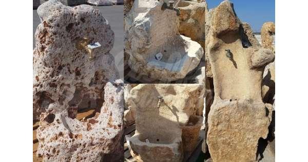 Fontane da giardino in pietra art 04 05 for Fontane da arredo