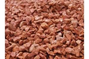 Granulati da Giardino Rosso Verona diam. mm. 8-12
