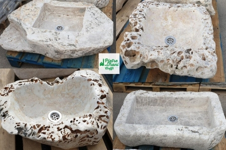 Lavandini, Lavabi in Pietra Naturale e Marmo