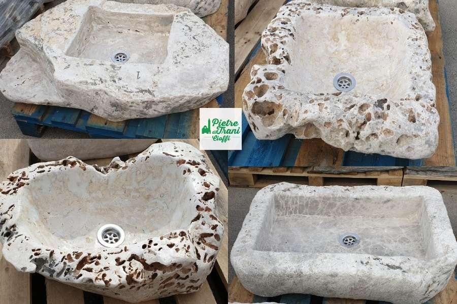 Lavandini, lavabi in Marmo