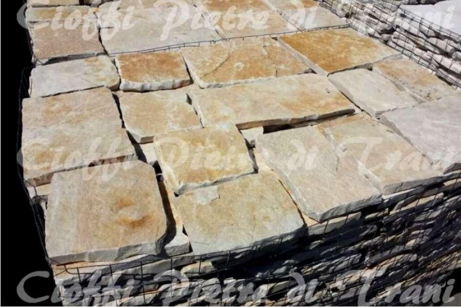 Pietre di trani offerte per pavimenti rivestimenti in pietra