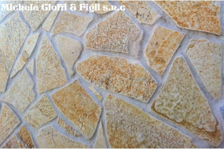 Pietra albanese anticata mosaico michele cioffi figli for Ciottoli di pietra bianca per giardino prezzo