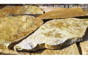 Pietra Albanese Mosaico Gialla