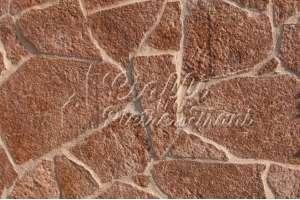 Pietra Albanese Rossa Mosaico sp. cm. 1-3