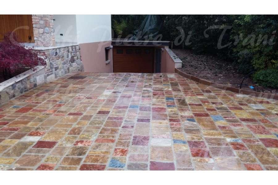 Pietra albanese piastrelle segate michele cioffi figli - Piastrelle finta pietra prezzi ...