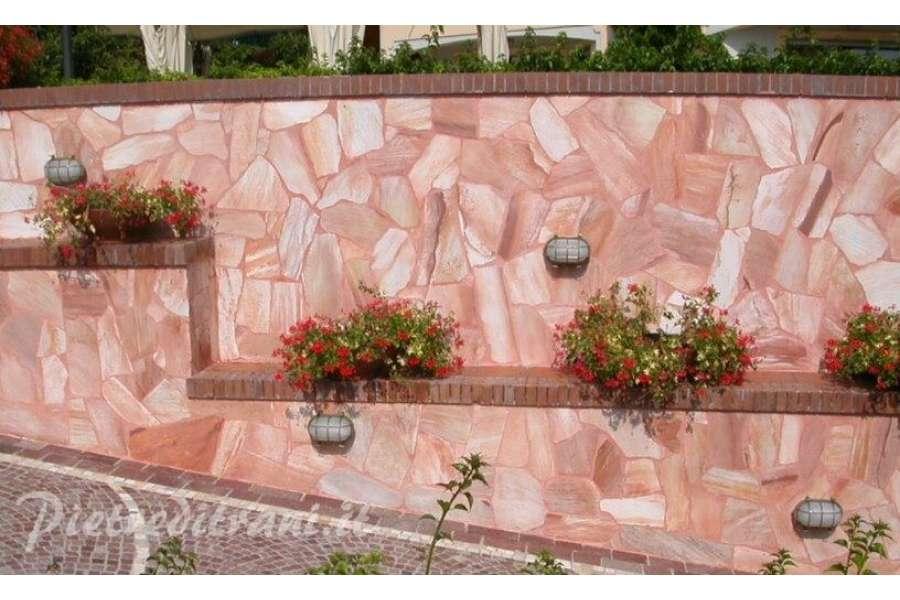 Quarzite rosa oriente mosaico brasiliano michele cioffi