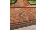 Quarzite brasiliana Rosa Oriente - Mosaico