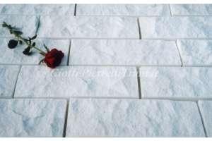 Scoppato Bianco Assoluto h. cm. 10x2 a correre