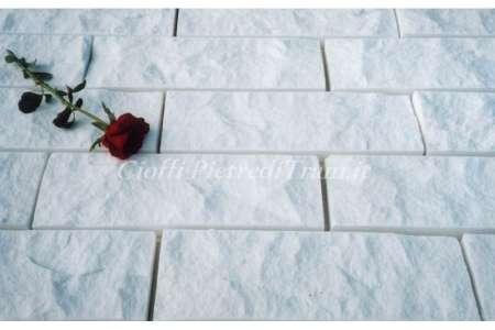 Scoppato Bianco Assoluto cm. 10x2