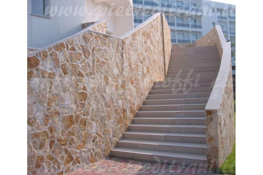 Pavimento In Pietra Di Trani : Scorza di trani classica da rivestimento la pietra di trani più