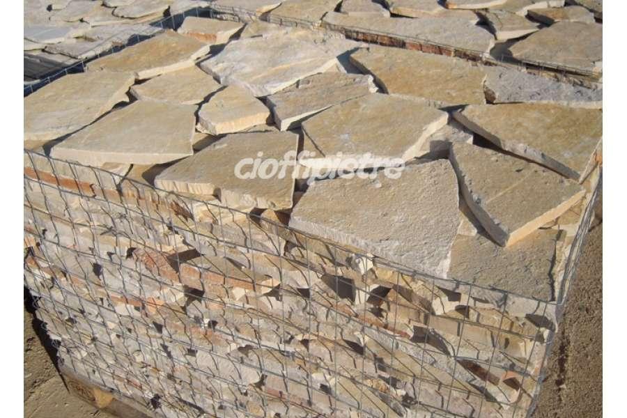 Pavimento In Pietra Di Trani : Scorza di trani retrosegata da rivestimento michele cioffi