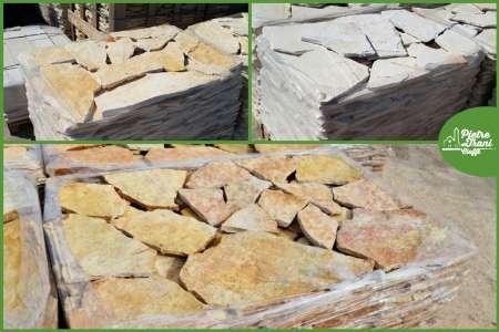 Scorza in Pietra di Trani Piano Cava sp. cm. 1-3