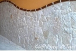 Scorza in Pietra di Trani Anticata sp. cm. 1-3