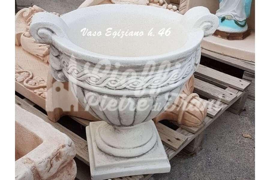Vasi da giardino in polvere di marmo for Vasi marmo